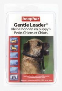 gentle-leader-zwart-kleine-hondpuppy